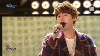A Million Pieces (Inkigayo 01.11.15) - Kyu Hyun (Super Junior)