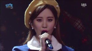 Dear Santa (Inkigayo 06.12.15) - Girls' Generation