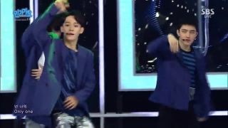 Lucky One (Inkigayo 12.06.2016) - EXO