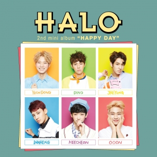 Happy Day (2nd Mini Album) - Halo