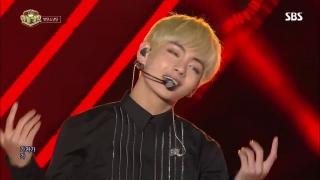 Blood Sweat & Tears (Inkigayo 30.10.2016) - BTS
