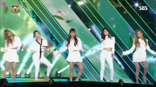 Only One (Inkigayo 30.10.2016) - A Pink