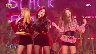 Playing With Fire (Inkigayo 06.11.2016) - Black Pink