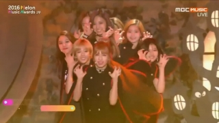 Cheer Up + TT (Melon Music Awards 2016) - Twice