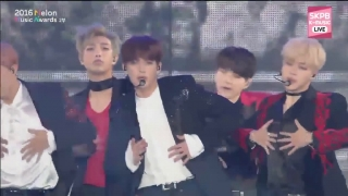 Blood Sweat & Tears + Fire (Melon Music Awards 2016) - BTS