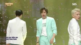 Ah Ah (Inkigayo 05.07.15) - TEEN TOP