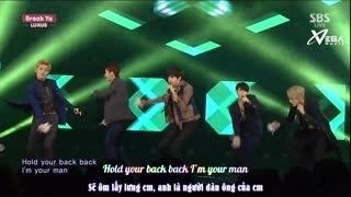 Break Ya (Inkigayo 18.01.15) (Vietsub) - Lu:Kus