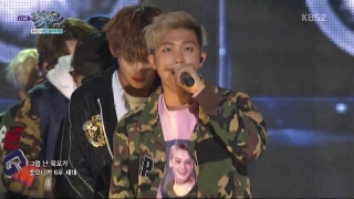 Boyz With Fun + Dope (Music Bank 09.10.15) - BTS