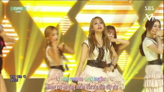 Cupid (Inkigayo 14.06.15) (Vietsub) - Kara