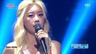 Come Slowly + Ring My Bell (Inkigayo 12.07.15) - Girl's Day