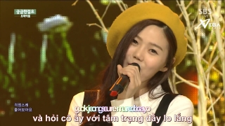 Curious (Inkigayo 21.06.15) (Vietsub) - Oh My Girl