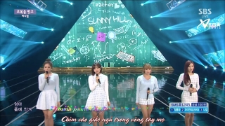 Child In Time (Inkigayo 15.02.15) (Vietsub) - Sunny Hill