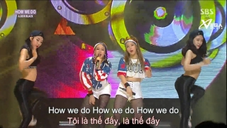 How We Do (Inkigayo 21.06.15) (Vietsub) - A.Kor Black