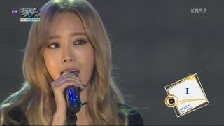 I (Music Bank 09.10.15) - Taeyeon