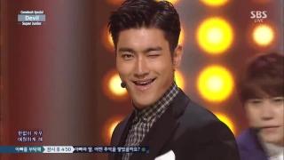 Devil (Inkigayo 19.07.15) - Super Junior