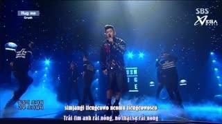 Hug Me (Inkigayo 06.07.14) (Vietsub) - Crush