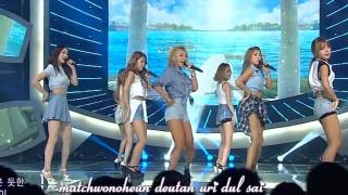 I Swear (Inkigayo 07.09.14) (Vietsub) - Sistar