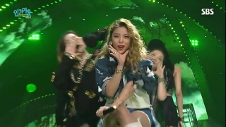 Mind Your Own Business (Inkigayo 18.10.15) - Ailee