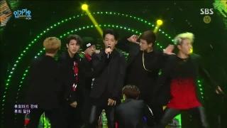 Rhythm Ta (Inkigayo 25.10.15) - iKON