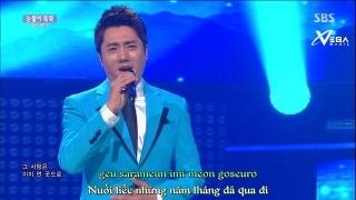 Sea Of Tear Drops (Inkigayo 14.06.15) (Vietsub) - Hooni Yongi
