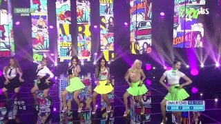 Shake It (Inkigayo 19.07.15) - Sistar