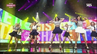 Shake It (Inkigayo 05.07.15) - Sistar