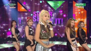 Shake It (Music Bank 03.07.15) - Sistar
