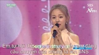 Shouldn't Have (Inkigayo 21.06.15) (Vietsub) - Baek Ah Yeon