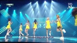 Short Hair (Inkigayo 06.07.14) (Vietsub) - AOA