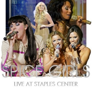 Spice Girls Live At Staples Center L.A - Spice Girls