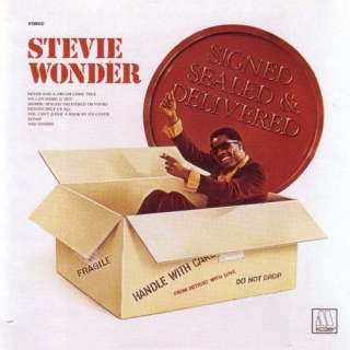 Signed Sealed Delivered (Japanese Pressing) - Stevie Wonder