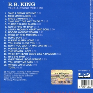 Take A Swing With Me - B.B. King
