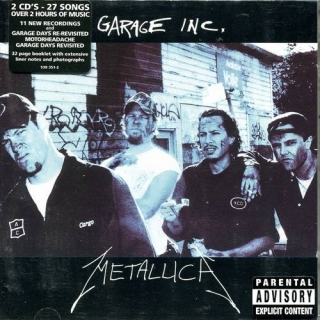 Garage Inc CD2 - UK Vertigo - Metallica