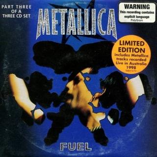 Fuel CD3 - Australia - Metallica