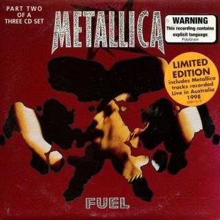 Fuel CD2 - Australia - Metallica