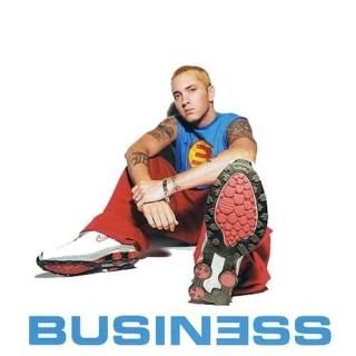 Business White Cover - Eminem