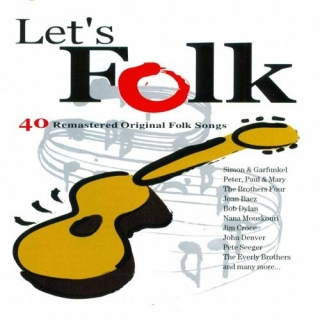 Let's Folk (40 Remasteres Original Folk Song) CD2 - Various Artists