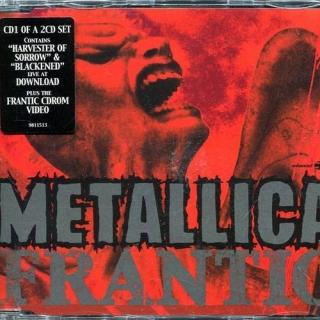 Frantic CD1 - UK 2CD set - Metallica