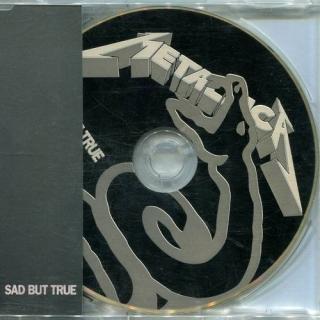 Sad But True - UK Vertigo METCH 11 - Metallica