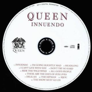 Innuendo CD1 - Queen