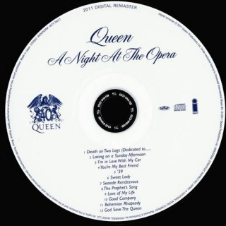 A Night At The Opera CD1 - Queen