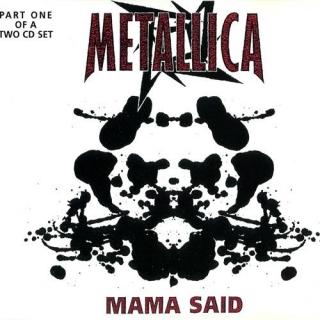 Mama Said CD1 - UK METCD 14 - Metallica