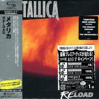 Reload - UK Vertig - Metallica