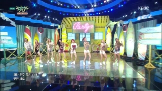 Party (Music Bank 10.07.15) - Girls' Generation (SNSD)