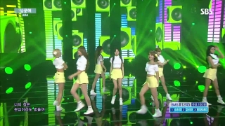 Heart Attack (Inkigayo 19.07.15) - AOA