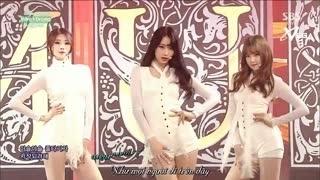 Intro + Drama (Inkigayo 25.01.15) (Vietsub) - Nine Muses