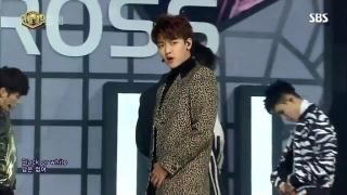 Black Or White (Inkigayo 12.02.2017) - Cross Gene