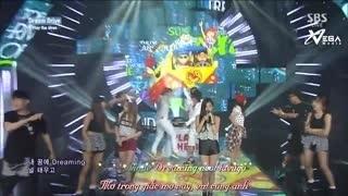 Dream Drive (Inkigayo 24.08.14) (Vietsub)  - Play The Siren