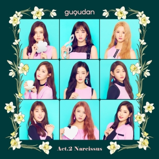 Act. 2 Narcissus (2nd Mini Album) - Gugudan (Gu9udan)