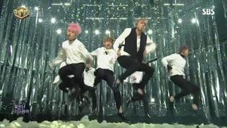 Spring Day (Inkigayo 26.02.2017) - BTS